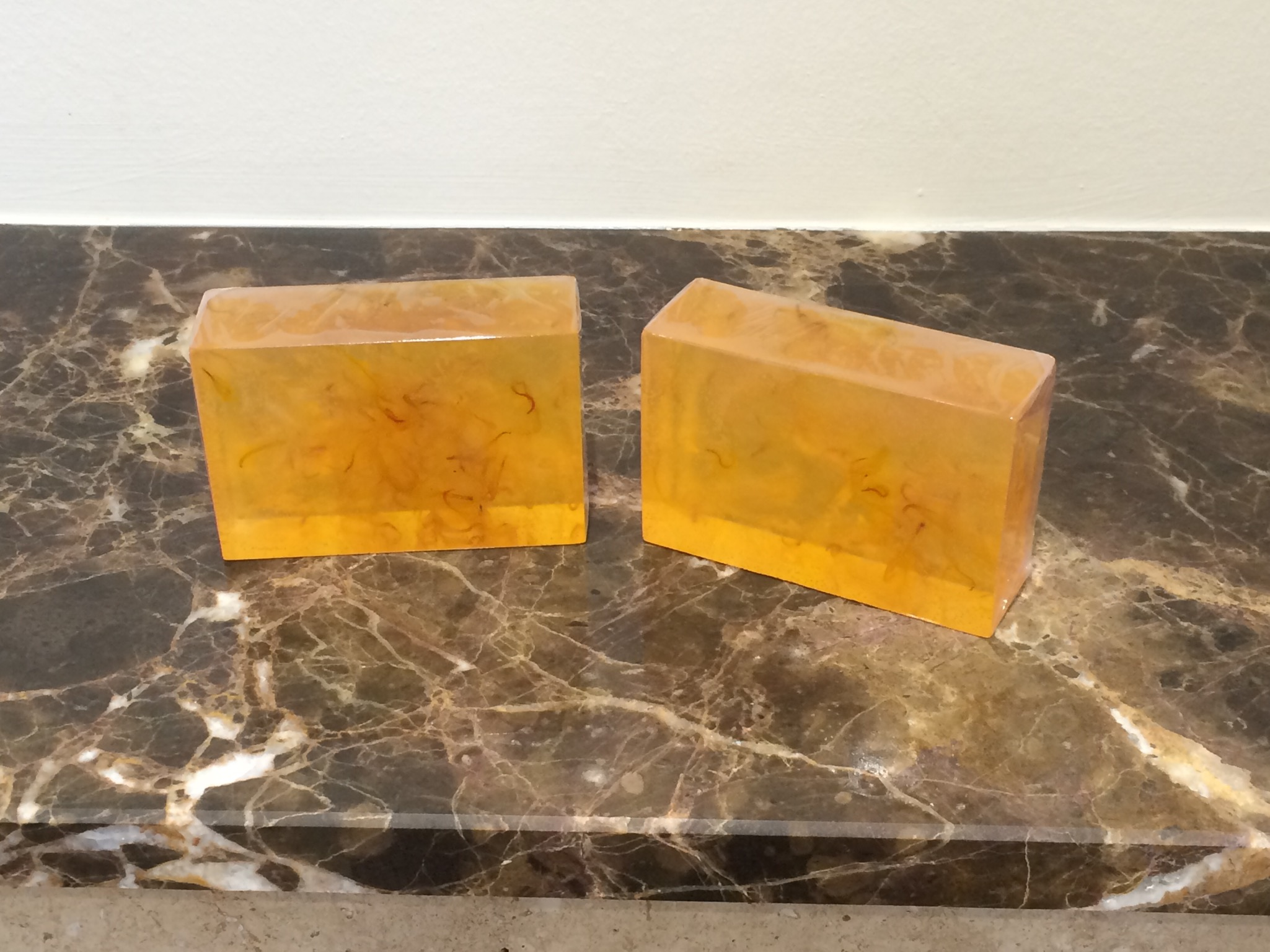 Orange and Calendula Soap