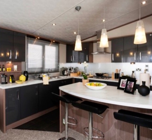 We Fit Beautiful Park Home Kitchens And Bathrooms