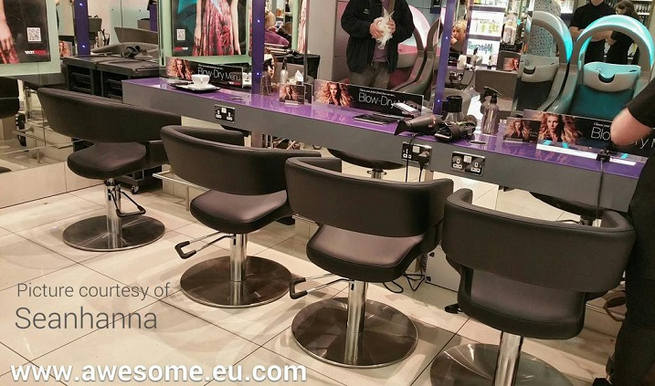 Reupholstered salon chairs for Seanhanna in Cambridge