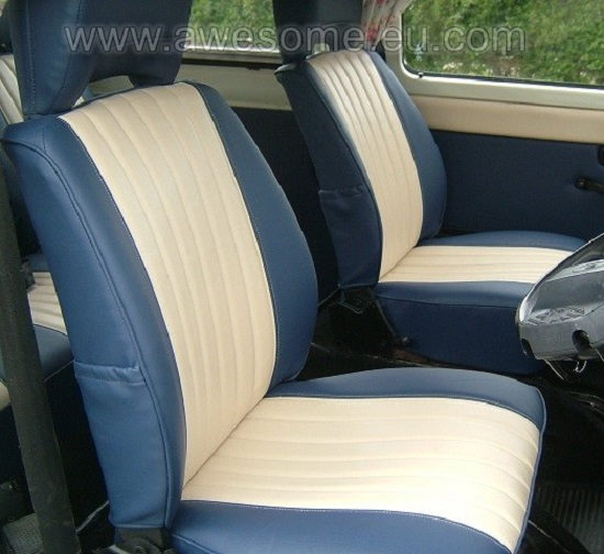 Reupholstered VW T2 bus