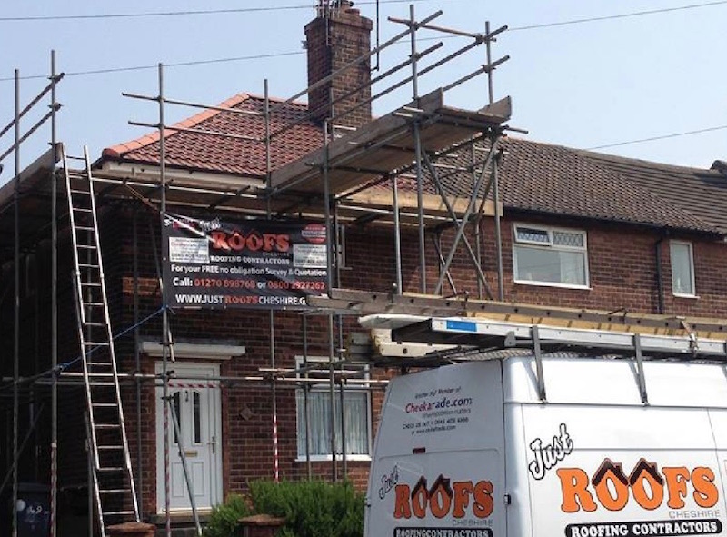Just Roofs Cheshire is Cheshire's leading roofing company!