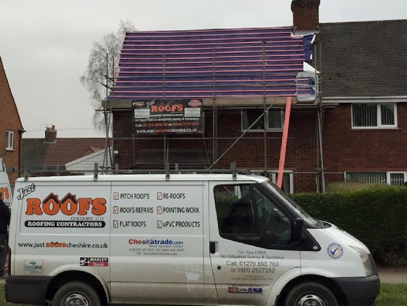 Cheshire's leading roofers Just Roofs Cheshire
