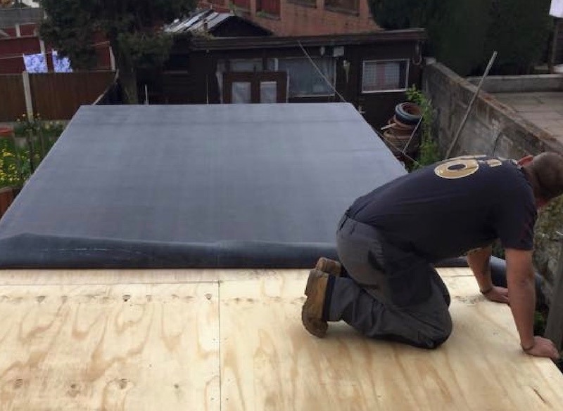 Flat roofers EPDM Rubber Roofing by Just Roofs Cheshire