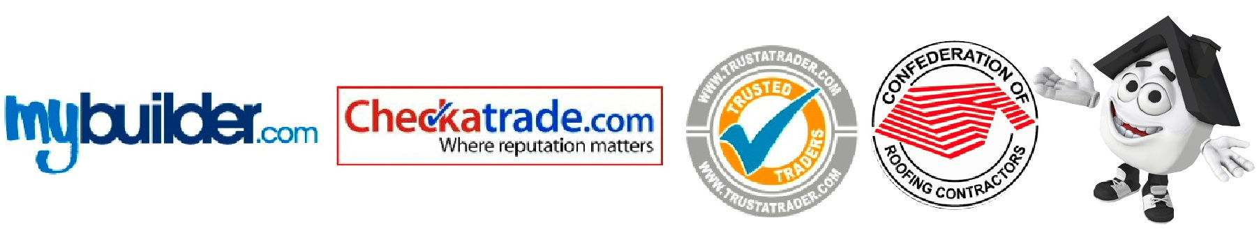 Just Roofs are members of the Confederation of Roofing Contractors and are listed on Checkatrade