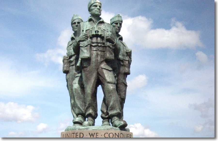 The Commando Memorial at Spean Bridge within driving distance from Lorien House B&B