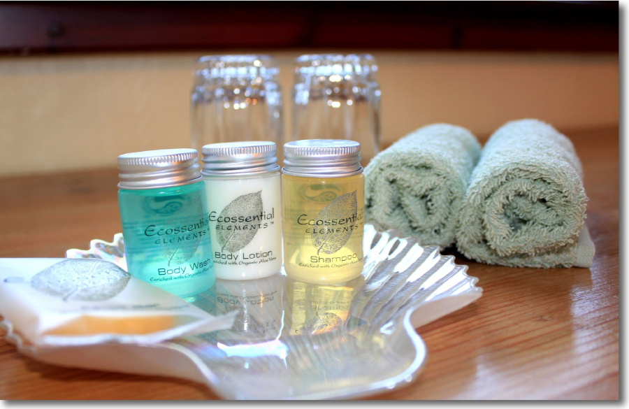 Complimentary toiletries at Lorien House Bed & Breakfast
