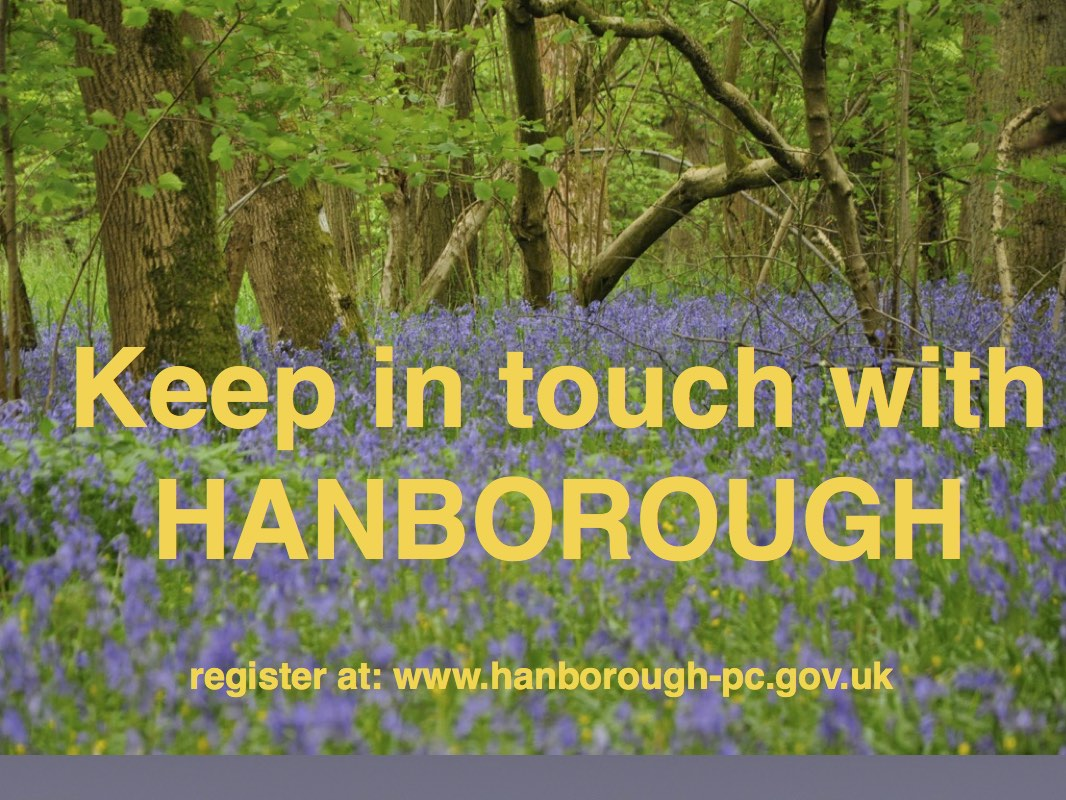 Keep in touch with Hanborough