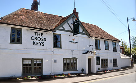 The Cross Keys in Pangbourne