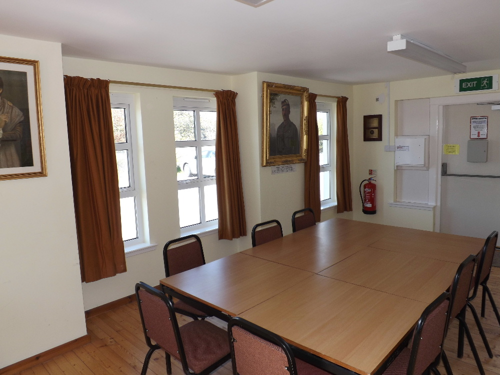 There is also a smaller meeting room available for hire within Kippford Village Hall.