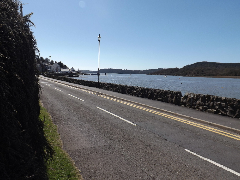 Kippford is a peaceful and tranquil village.