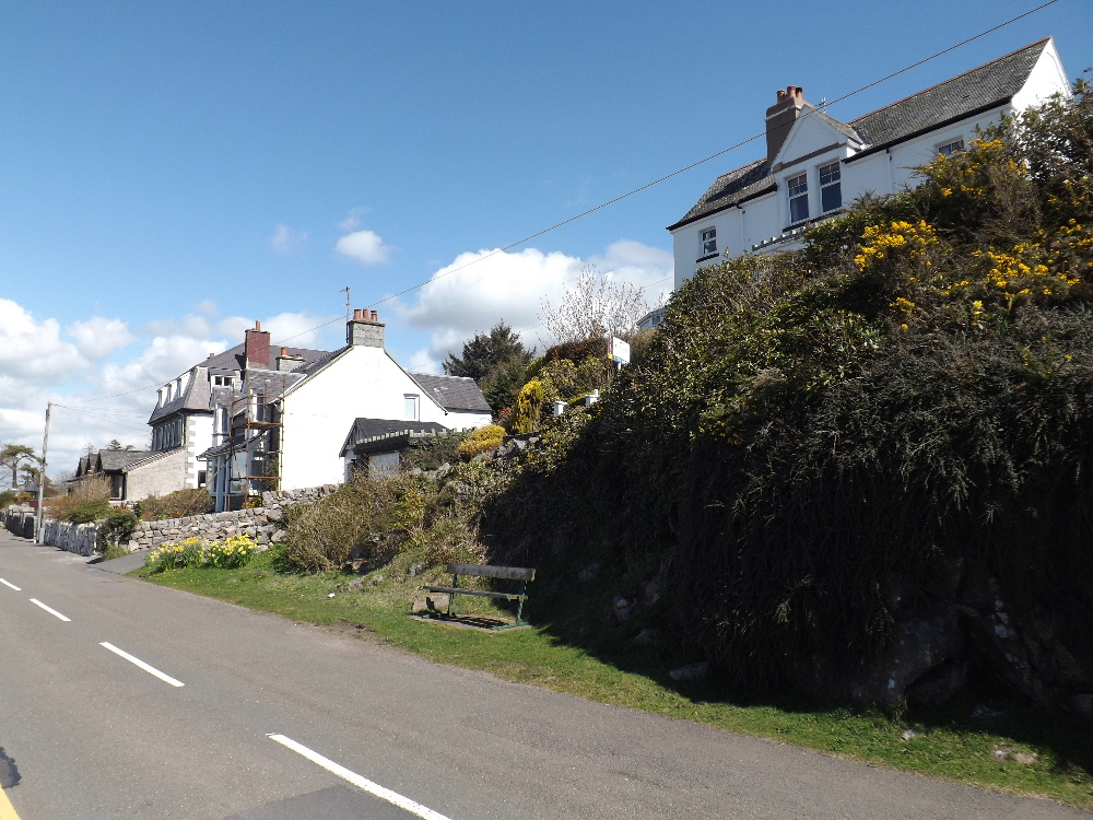 Many houses in Kippford have been bought by English people seeking a more peaceful lifestyle.