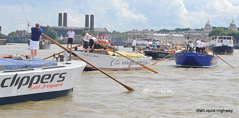 Thames Barge Driving Race 2017 (Saturday 15th July)