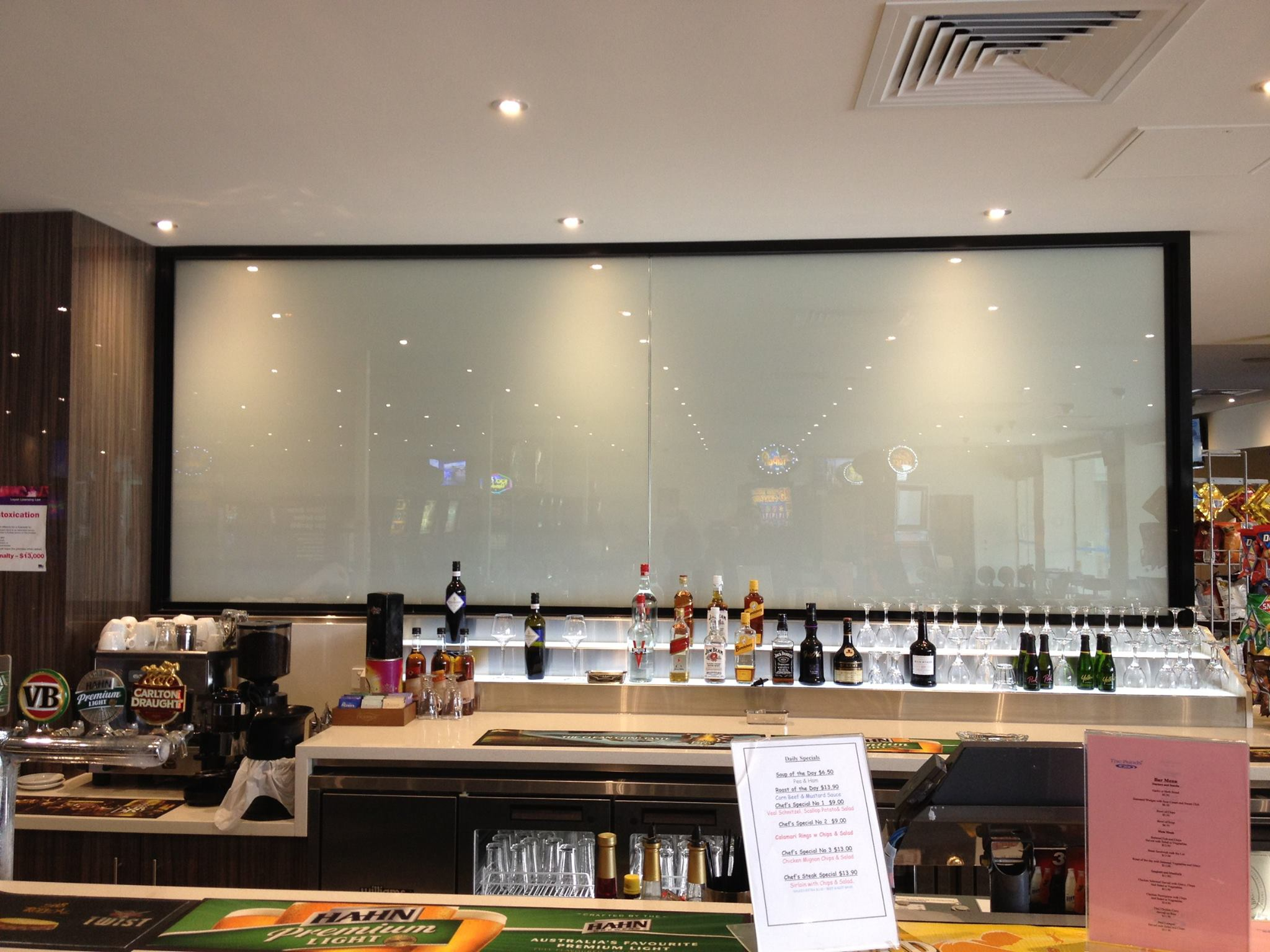 ELECTRIC SMART GLASS BAR