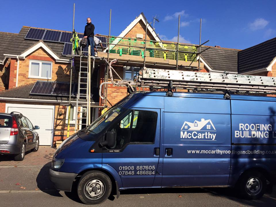 McCarthy Roofing & Building Limited of Milton Keynes