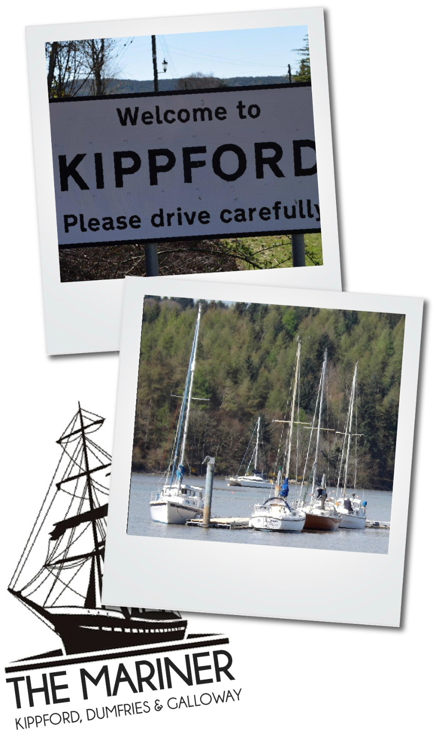 Travel Directions to the Mariner, Kippford