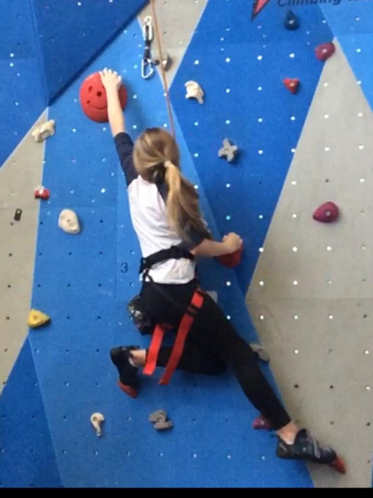 Gillingham climbing wall