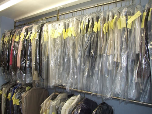Dry cleaning by Quick Return Cleaners, Stranraer