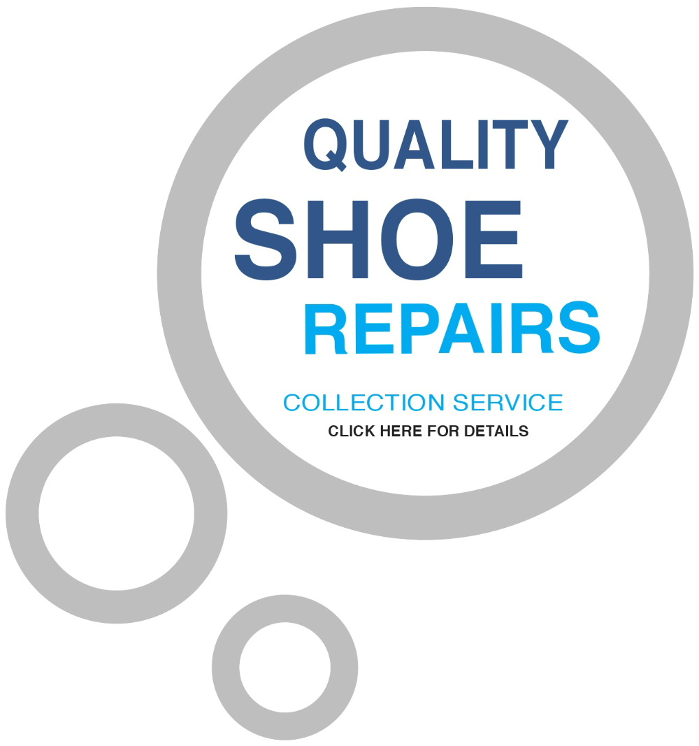 Shoe repairs at Quick Return Cleaners, Stranraer