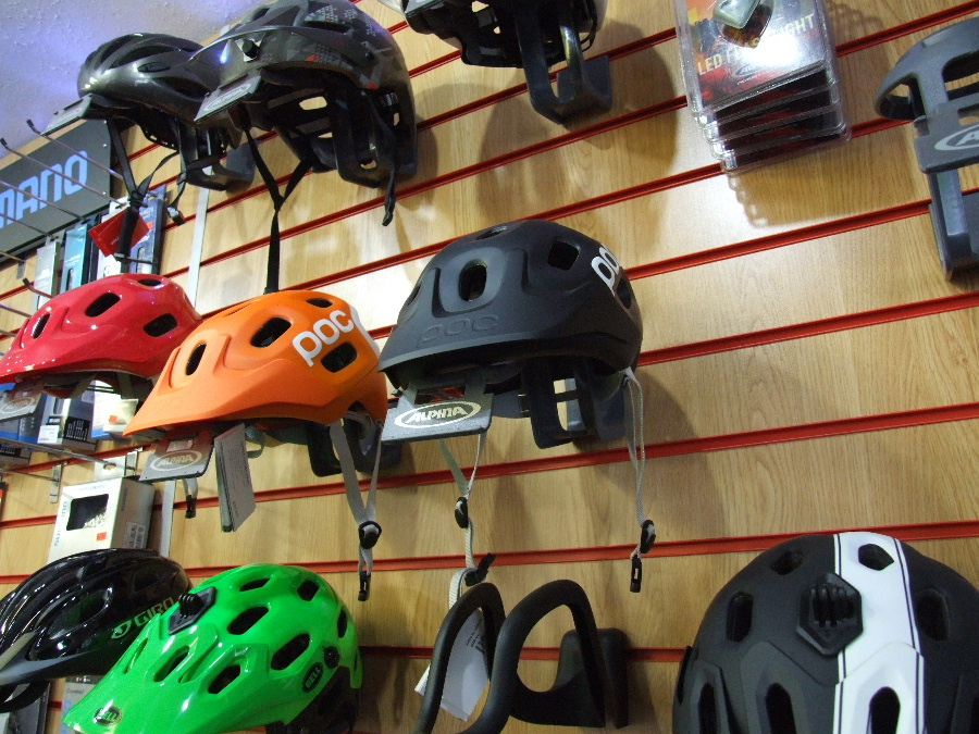 POC, Bell and Merida Cycle Helmets from MPG Cycles of Dalbeattie