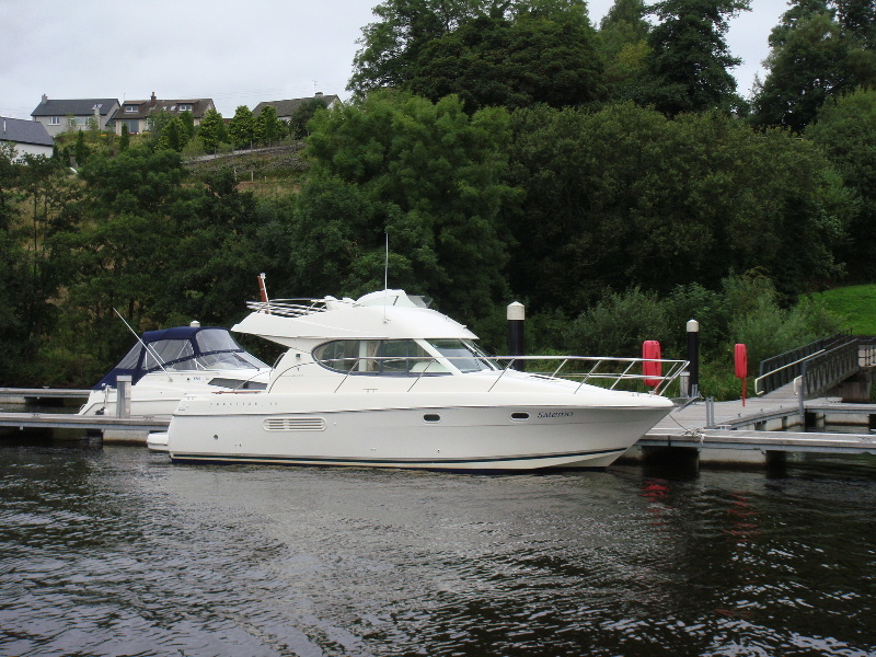 The 110 berth marina at Erne Marine Bellanaleck