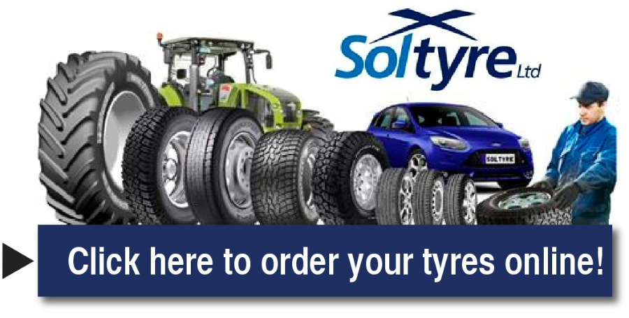 Order your tyres online with Soltyre Dumfries