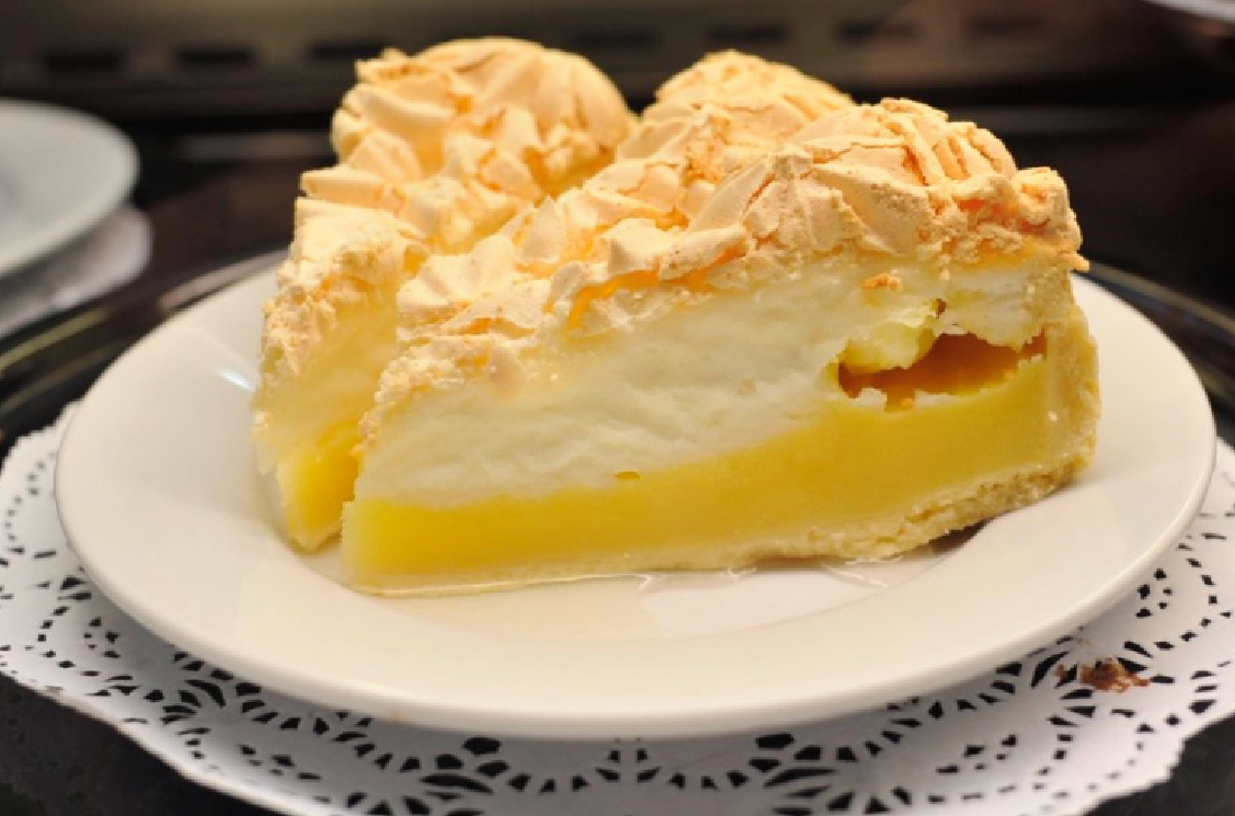 Lemon Meringue Pie at the Castle Douglas Garden Centre
