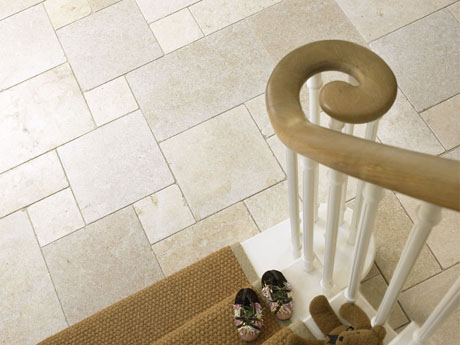 Aegean Limstone Floor Tiles from Dream Tiles of Bicester