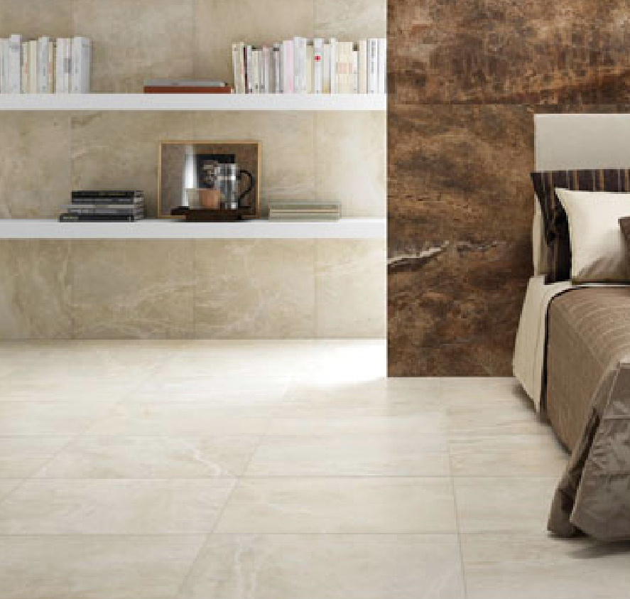 Bone Marble Effect tiles from the RAK range from Dream Tiles of Bicester