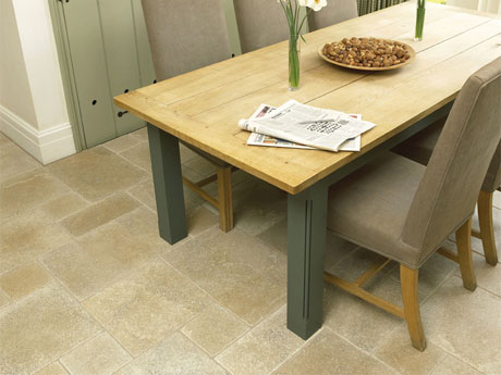 Chenzira natural stone floor tiles from Dream Tiles of Bicester