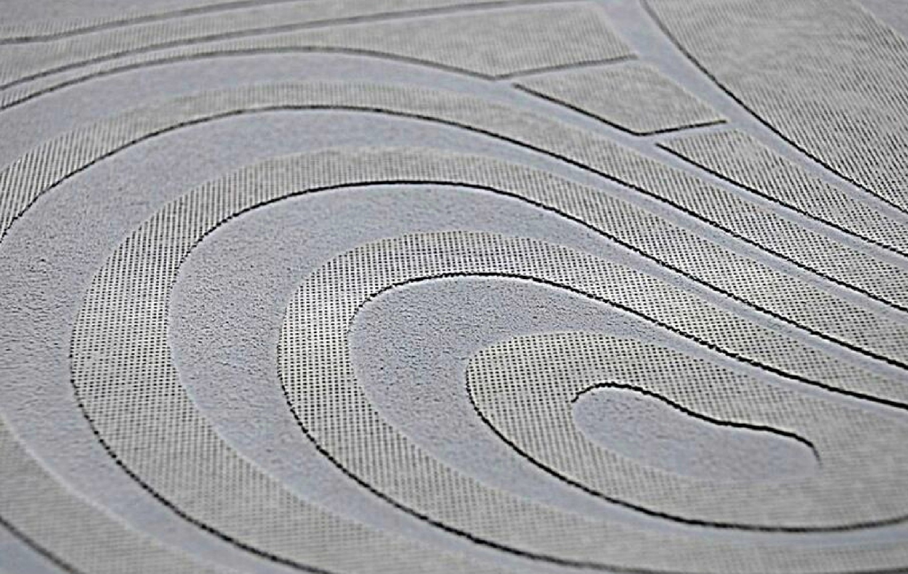 architectural concrete tiles from Dream Tiles of Bicester - Textiles Swirl