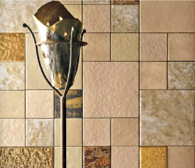 Mosaic tiles from the Petracer's Italian ceramics range from Dream Tiles of Bicester, Oxfordshire, call 01869357777