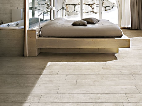 Antigua wood effect floor tiles from Dream Tiles
