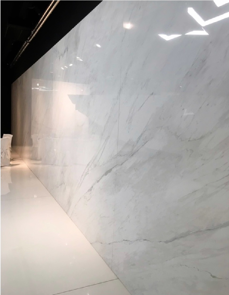 Luxurious wall panels from GranitiFiandre ranges available from Dream Tiles of Bicester