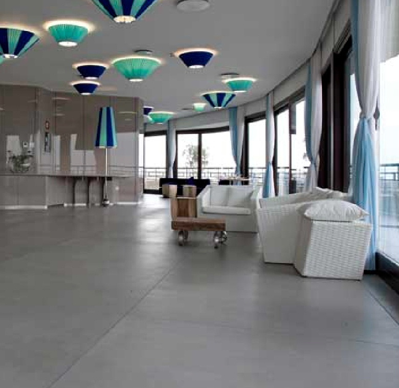 Architectural floor tiles for hotels and hotel developments, from Dream Tiles of Bicester, Oxfordshire Call 01869357777