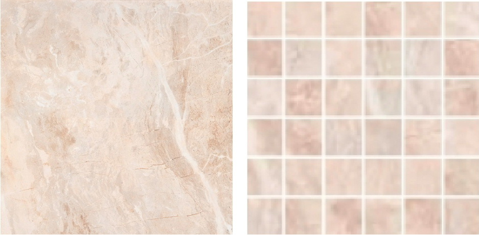 RAK Ceramics tiles with a marble effect