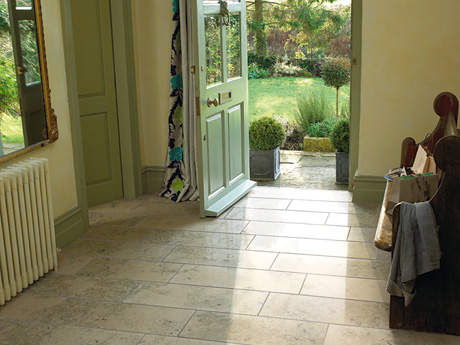 Jura Grey Limestone floor tiles from Dream Tiles of Bicester