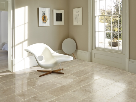 Layton Coombe Antique limestone floor tiles from Dream Tiles