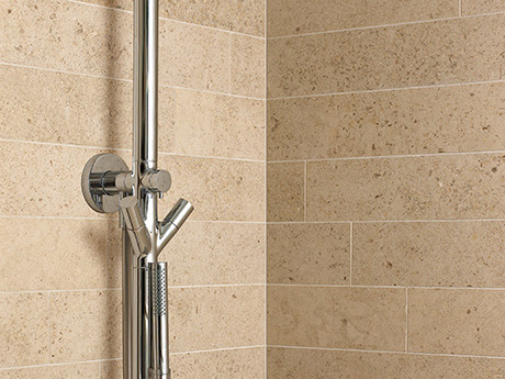 Moleanos Limestone wall tiles from Dream Tiles