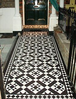 Bespoke, water jet cut tiles from architectural tile specialists Dream Tiles of Bicester, Oxfordshire, call 01869357777