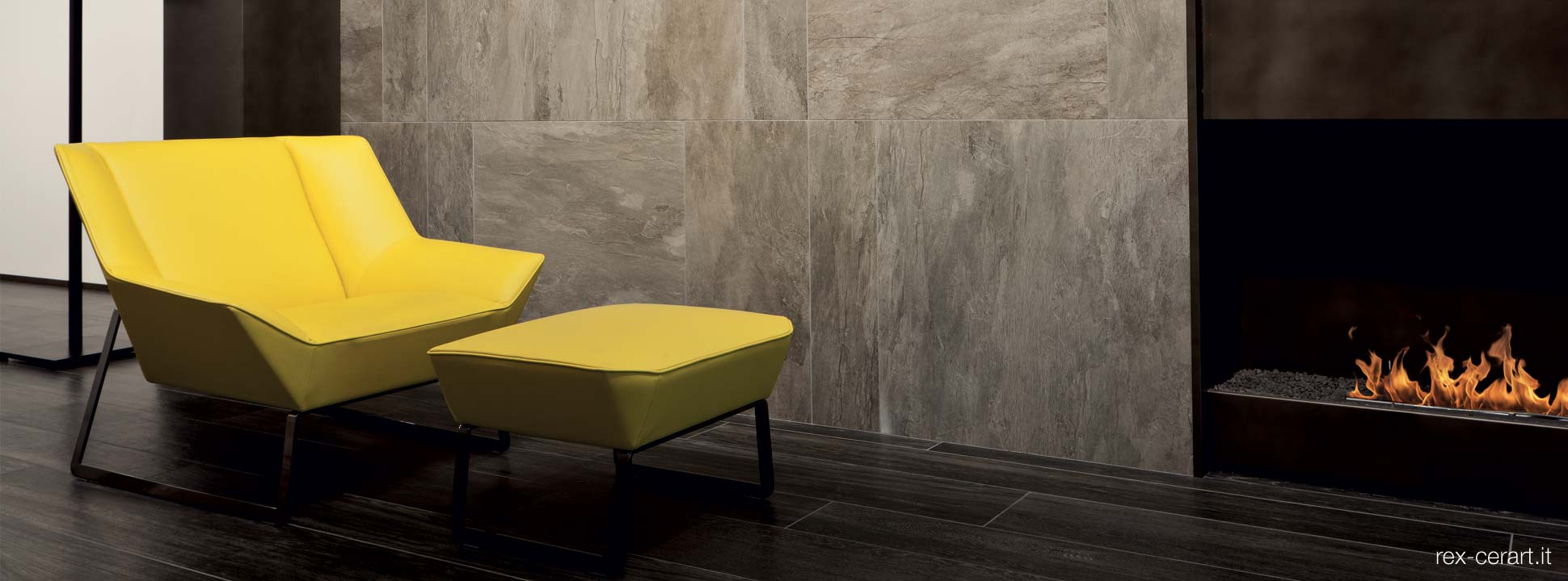 Stylish luxury Italian floor and wall tiles by Rex Ceramica for your lounge, Dream Tiles, Bicester,Oxfordshire. call 01869357777