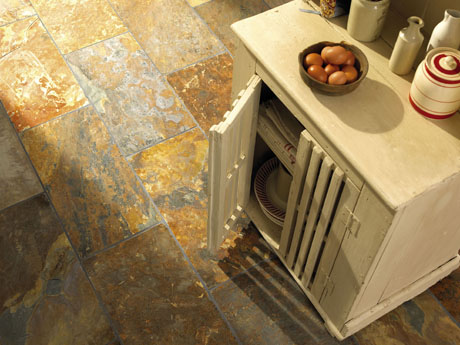Rustic multi slate tiles from Dream Tiles of Bicester