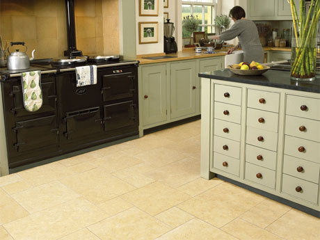Safiya limestone floor tiles from Dream Tiles