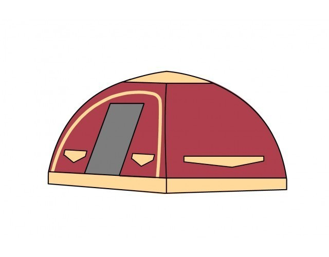 Karsten 220 Inflatable Tent