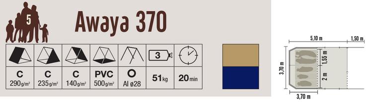 Cabanon Awaya 370 Specification