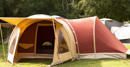 Karsten Inflatable Tent with Sleeping Extension