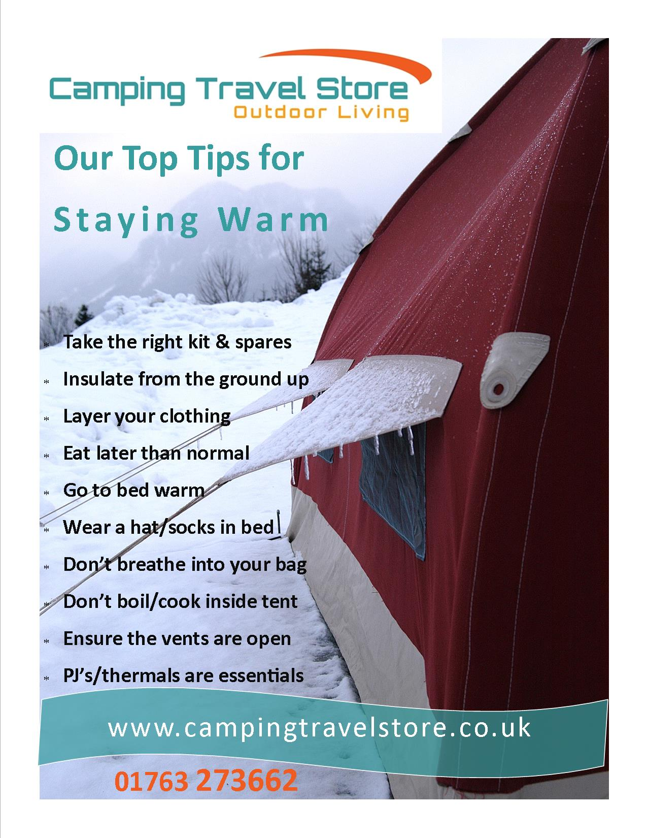 Top tips for staying warm
