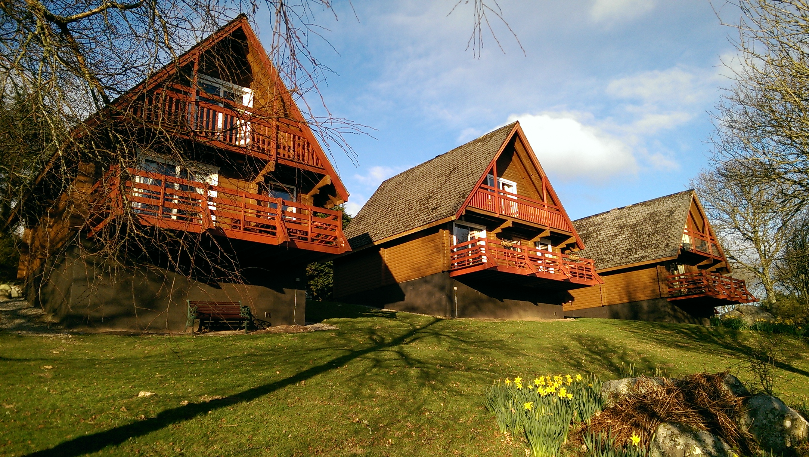 Beautiful Lodges for you to relax and unwind.