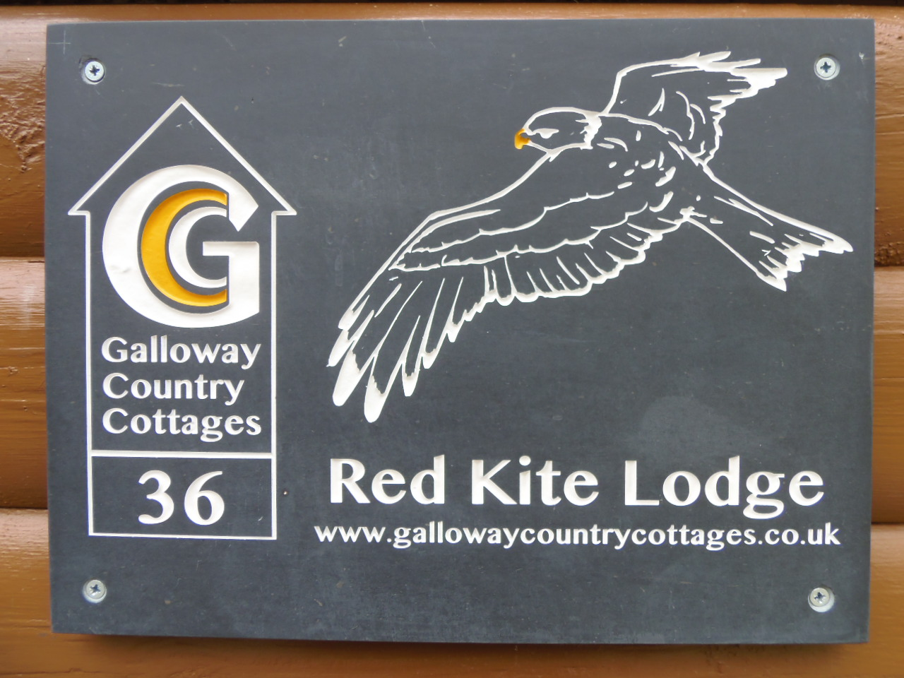 Red Kite Lodge - Name Plaque