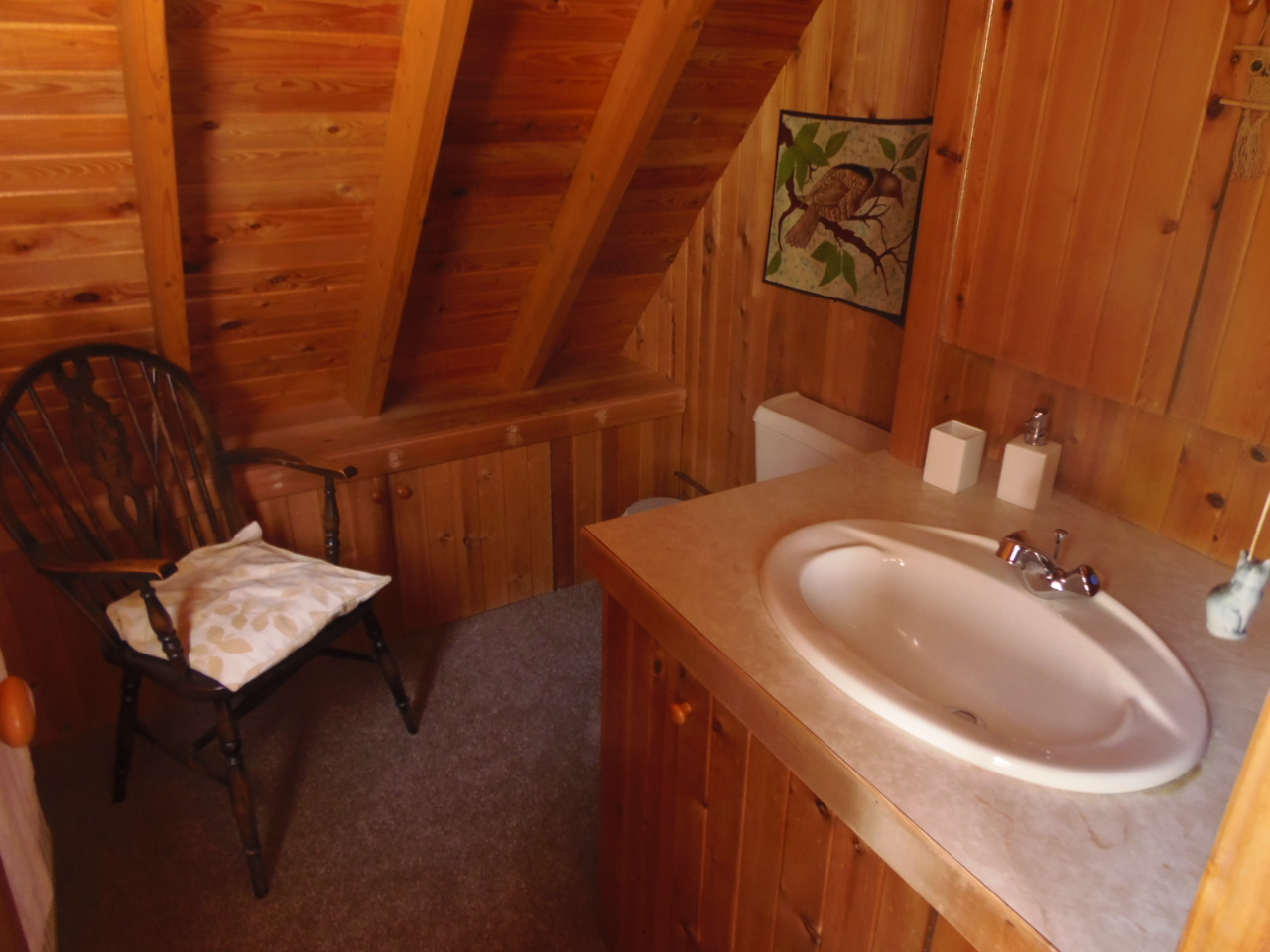 Owl Lodge - Ensuite Bathroom Upstairs