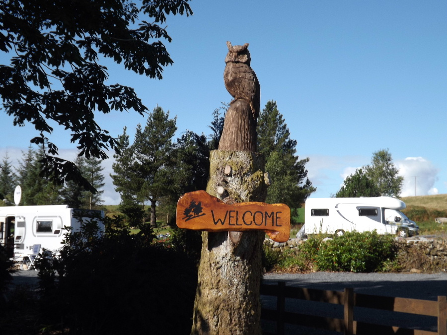 Welcome to Glentrool Camping and Caravan Site in Dumfries & Galloway south west Scotland